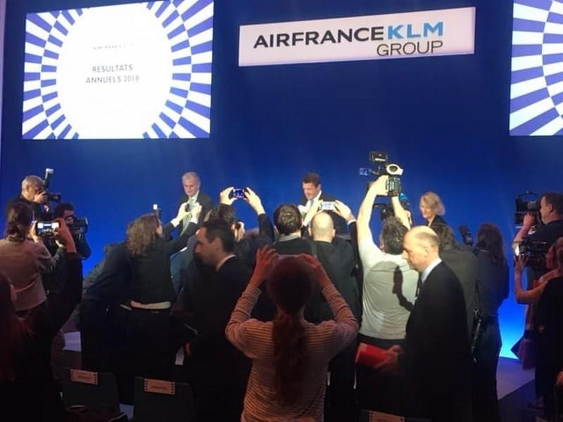 Les résultats très disparates d'Air France – KLM