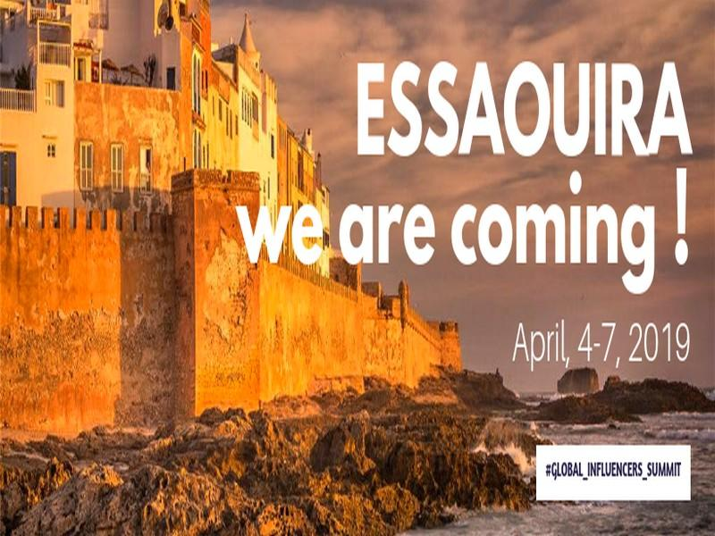 Essaouira abrite le Global Influencers Summit 2019