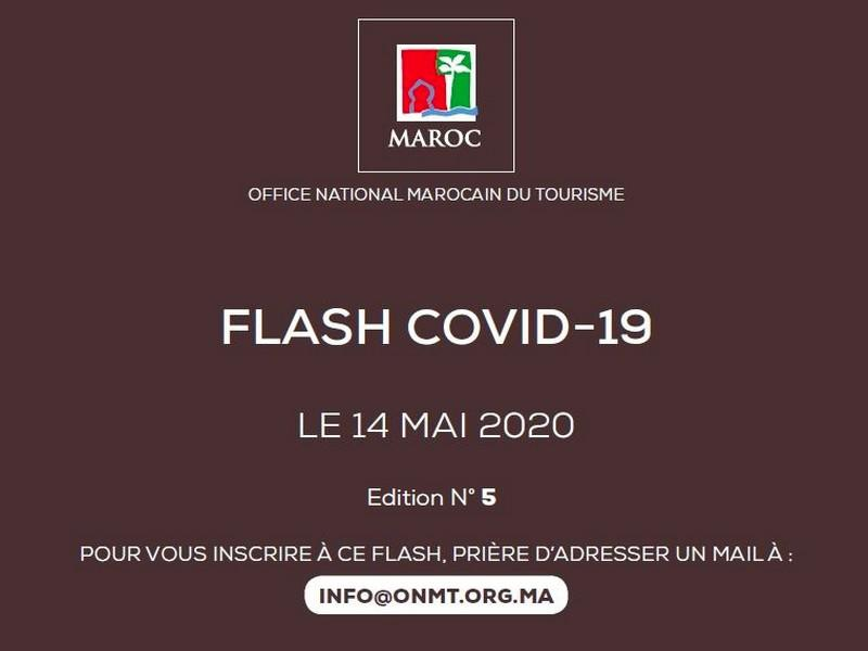 Office National Marocain du To urisme flash COVID-19 le 14 MAI 2020 Edition N° 5