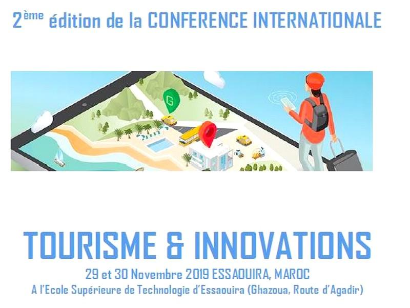 2ème édition de la CONFERENCE INTERNATIONALE TOURISME & INNOVATIONS