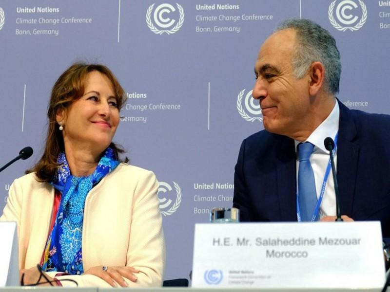 Royal et Mezouar appellent à une ratification rapide de l'Accord de Paris pour le climat