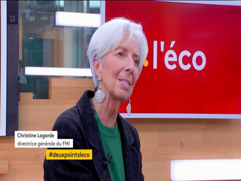 VIDEO. Christine Lagarde :
