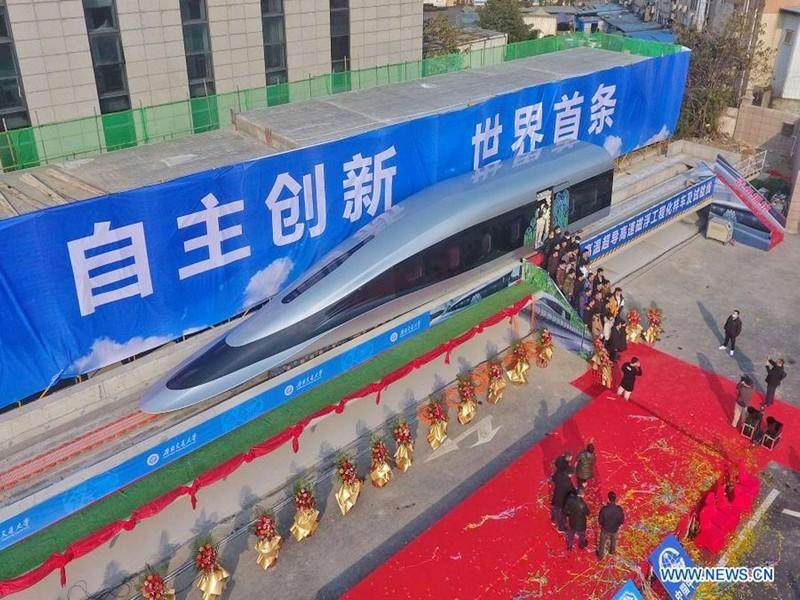 #CHINE_TESTS_MAGLEV_TRAIN_GRANDE_VITESSE: La Chine teste son train ultra-rapide : 620 km/h !