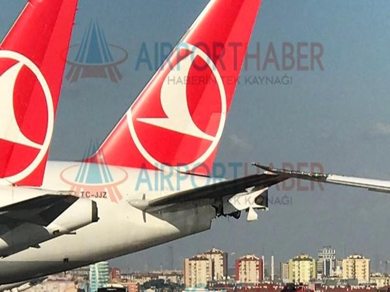Images. Un avion de Royal Air Maroc percute un autre de Turkish Airlines à Istanbul