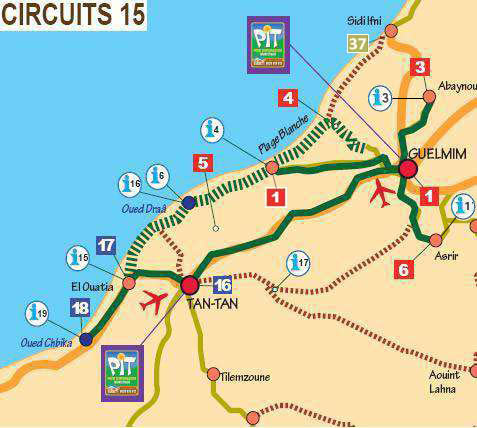 Circuits a la decouverte de la région Guelmim