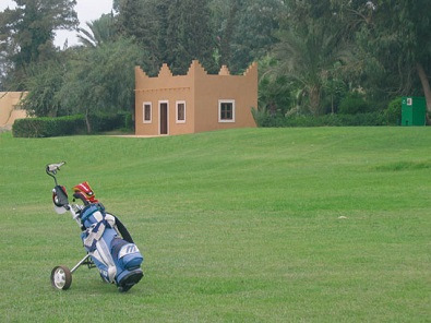 Exhibition mixte sur le golf du palais Royal d'Agadir
